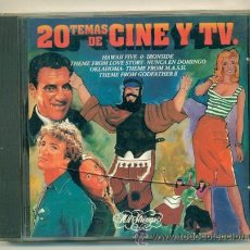 CDs de Música: TEMAS DE CINE Y TV. 20 - HAWAI FIVE IRONSIDE MASH LOVE STORY A FOGGY DAY.... Lote 39133600