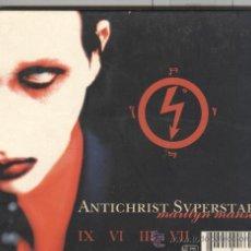 CDs de Música: MARILYN MANSON. ANTICHRIST SUPERSTAR. CON FUNDA EN. Lote 39148818