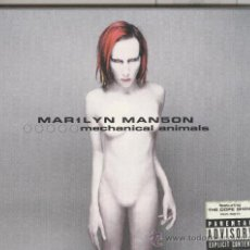 CDs de Música: MARILYN MANSON. MECHANICAL ANIMALS. CD. Lote 39148891