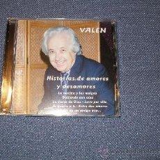 CDs de Música: VALEN - HISTORIAS DE AMORES Y DESAMORES - 2013. RARÍSIMO. Lote 147963010