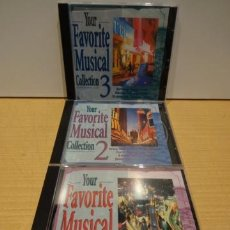 CDs de Música: YOUR FAVORITE MUSICAL COLLECTION / MASTER MUSIC 1997 / 3 CDS / 50 TEMAS. CALIDAD LUJO.. Lote 39156146