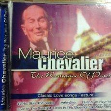 CDs de Música: CD MAURICE CHEVALIER - ROMANCE OF PARIS.. Lote 39177496