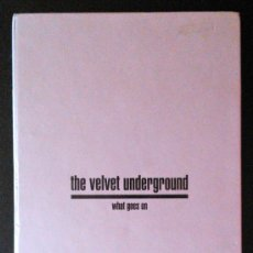 CDs de Música: THE VELVET UNDERGROUND, WHATS GOES ON - CAJA CON 3 CD'S + LIBRO - EN SELLO RAVEN, AUSTRALIA 1993. Lote 39184792