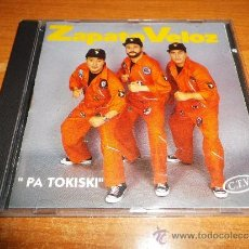 CDs de Música: ZAPATO VELOZ PA TOKISKI CD ALBUM AÑO 1993 10 TEMAS JAVIER DIAZ NACKO LESKO TONI CARMONA KITFLUS RARO. Lote 39192693