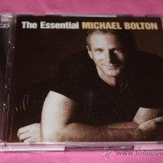 CDs de Música: MICHAEL BOLTON - THE ESSENTIAL - DOBLE CD MÚSICA - RARO. Lote 39206930
