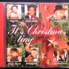CDs de Música: IT'S CHRISTMAS TIME, VARIOS: BEACH BOYS, PEGGY LEE, NAT KING COLE, VERA LYNN... CD. Lote 39222369