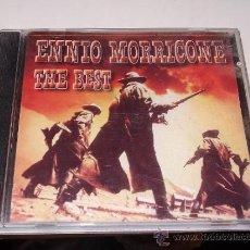 CDs de Música: ENNIO MORRICONE THE BEST. Lote 39225492