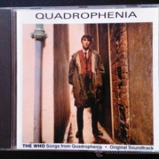 CDs de Música: QUADROPHENIA, THE WHO, BANDA SONORA - CD. Lote 39228743