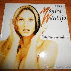 CDs de Música: MONICA NARANJO EMPIEZO A RECORDARTE CD SINGLE PROMOCIONAL DE CARTON DEL AÑO 1997 CONTIENE 1 TEMA. Lote 39245358