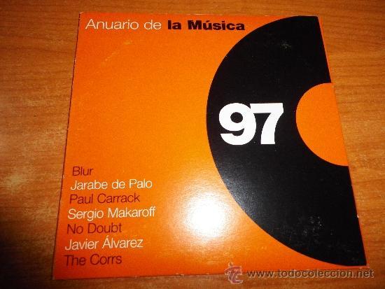THE CORRS Runaway ANUARIO DE LA MUSICA 97 CD SINGLE PROMOCIONAL DE CARTON 7  TEMAS