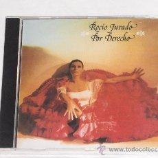 CDs de Música: ROCIO JURADO-POR DERECHO(ESTILO-ISABEL PANTOJA-PASTORA SOLER-PALOMA SAN BASILIO-CARMEN SEVILLA). Lote 144959137