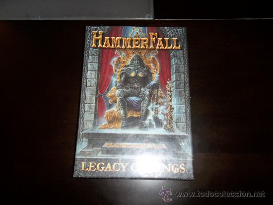 HAMMERFALL LEGACY OF KINGS CD LONG BOX SET (Música - CD's Heavy Metal)