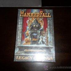 CDs de Música: HAMMERFALL LEGACY OF KINGS CD LONG BOX SET. Lote 39267896