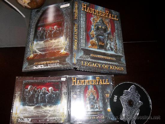 CDs de Música: HAMMERFALL LEGACY OF KINGS CD LONG BOX SET - Foto 3 - 39267896