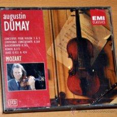CDs de Música: ALBUM DE 3 CDS + LIBRETO: AUGUSTIN DUMAY INTERPRETA A MOZART - EMI CLASSICS 1997. Lote 39299965