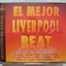 CDs de Música: EL MEJOR LIVERPOOL BEAT DOBLE CD ESPAÑOL BEATLES SEARCHERS MERSEY BEAT SMALL FACES VER TEMAS. Lote 39306808