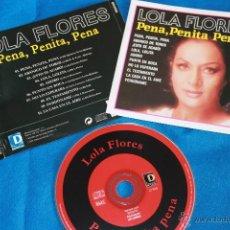 CDs de Música: LOLA FLORES - PENA, PENITA, PENA. Lote 39308603