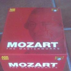 CDs de Música: MOZART THE MASTERWORKS BOX 40 CD. Lote 39363679