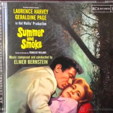 CDs de Música: SUMMER AND SMOKE (VERANO Y HUMO)-MUSIC COMPOSED AND CONDUCTED BY ELMER BERNSTEIN. Lote 39367587