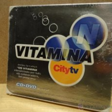 CDs de Música: VITAMINA N / CITY TV. CD + DVD. OCLOCK MUSIC - 2004. 16 TEMAS. PRECINTADO. DIFÍCIL.. Lote 39439173