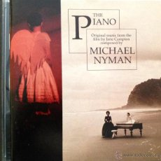 CDs de Música: THE PIANO- ORIGINAL MUSIC FROM THE FILM BY JANE CAMPION COMPOSED BY MICHAEL NYMAN. Lote 39391270