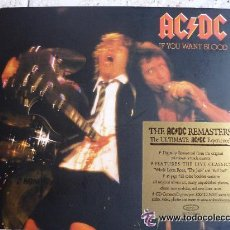 CDs de Música: AC/DC: IF YOU WANT BLOOD - DIGIPACK *IMPECABLE*. Lote 74497529