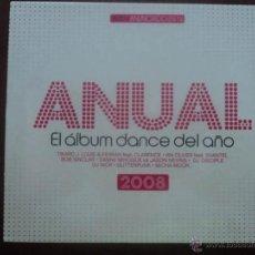 CDs de Música: TRIPLE CD ANUAL - EL ALBUM DANCE DEL AÑO 2008 - RECOPILATORIO. Lote 39420356