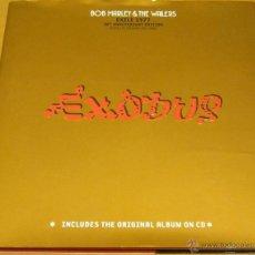 CDs de Música: BOB MARLEY - EXODUS - EXILE 1977 - EDITION 30 ANNIVERSARY - LIBRO + CD CON BONUS TRACKS. Lote 39429243