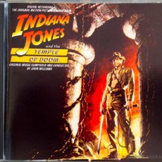 CDs de Música: INDIANA JONES AND THE TEMPLE OF DOOM- ORIGINAL MUSIC COMPOSED AND CONDUCTED BY JOHN WILLIAMS. Lote 39448256