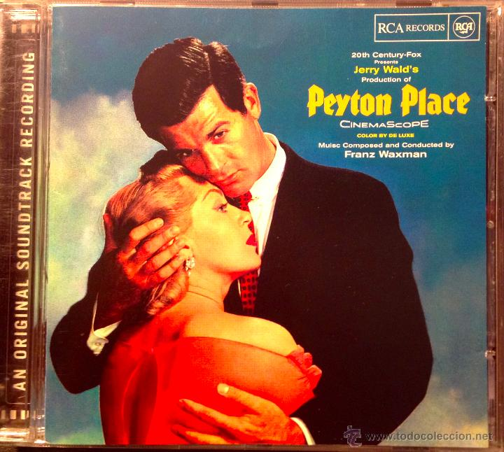 FRANZ WAXMAN- PEYTON PLACE-AN ORIGINAL SOUNDTRACK RECORDING- COMPOSED AND CONDUCTED BY FRANZ WAXMAN (Música - CD's Bandas Sonoras)
