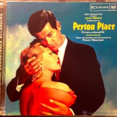 CDs de Música: FRANZ WAXMAN- PEYTON PLACE-AN ORIGINAL SOUNDTRACK RECORDING- COMPOSED AND CONDUCTED BY FRANZ WAXMAN. Lote 39448502
