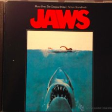 CDs de Música: JAWS (TIBURON) STEVE SPIELBERG 1975- MUSIC FROM THE ORIGINAL MOTION PICTURE SOUNDTRACK-JOHN WILLIAMS. Lote 39448599