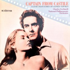CDs de Música: CAPTAIN FROM CASTILE- CLASSIC FILM SCORES OF ALFRED NEWMAN. . Lote 39451864