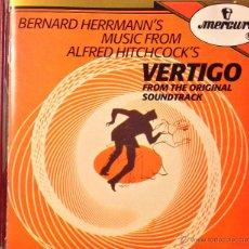CDs de Música: BERNARD HERRMANN'S MUSIC FROM ALFRED HITCHCOCK'S VERTIGO FROM THE ORIGINAL SOUNDTRACK. Lote 39451929
