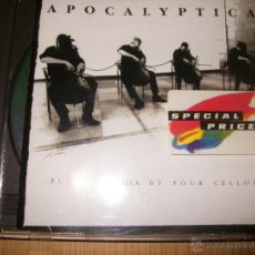 CDs de Música: CD - APOCALYPTICA - PLAYS METALLICA BY FOUR CELLOS - FIRMADO POR LA BANDA. Lote 39459305