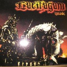 CDs de Música: CD - LUCIFUGUM - INVADE - DIGIPACK - BLACK METAL. Lote 39459505