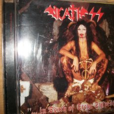 CDs de Música: CD - DEATH SS - ...IN DEATH OF STEVE SYLVESTER - SPEED BLACK METAL. Lote 39459531