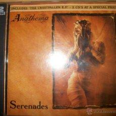 CDs de Música: 2 CD - ANATHEMA - SERENADES / THE CRESTFALLEN - 1993 - DOOM GOTHIC METAL. Lote 39459569