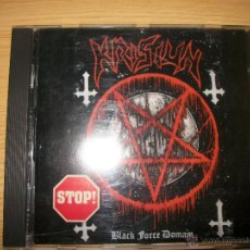 CDs de Música: CD - KRISIUN - BLACK FORCE DOMAIN - DEATH METAL. Lote 39459575
