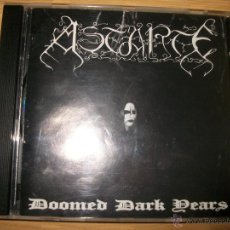 CDs de Música: CD - ASTARTE - DOOMED DARK YEARS - 1ST. PRESS. - BLACK METAL. Lote 39459782