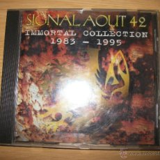 CDs de Música: CD - SIGNAL AOUT 42 - IMMORTAL COLLECTION 1983-1995 - ELECTRO INDUSTRIAL. Lote 39459801