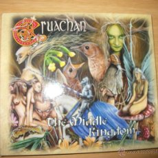 CDs de Música: CD - CRUACHAN - THE MIDDLE KINGDOM - DIGIPACK - FOLK VIKING METAL - FIRMADO POR LA BANDA. Lote 39459894