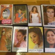 CDs de Música: VHS SARA MONTIEL ULTIMO CUPLE Y REGALO ISABEL PANTOJA , ROCIO JURADO , LOLA FLORES, MARIFE TRIANA. Lote 39462746