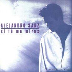CDs de Música: ALEJANDRO SANZ?– SI TÚ ME MIRAS CD ALBUM. Lote 39469071
