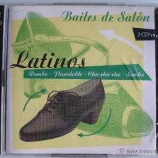 CDs de Música: BAILES DE SALON - LATINOS - 2CD -36 TRACKS. Lote 39501376