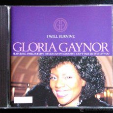 CDs de Música: GLORIA GAYNOR, I WILL SURVIVE - CD. Lote 39506837