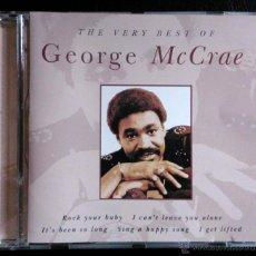 CDs de Música: GEORGE MCCRAE, THE VERY BEST OF - CD. Lote 39506852