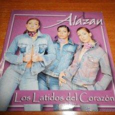 CDs de Música: ALAZAN LOS LATIDOS DEL CORAZON CD SINGLE PROMOCIONAL DE CARTON AÑO 2001 CONTIENE 1 TEMA. Lote 39528847