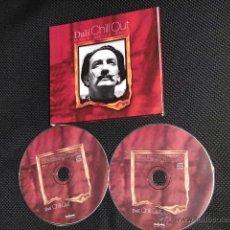 CDs de Música: SALVADOR DALI DOBLE CD CHILL OUT DESCATALOGADO ESPAÑA 2004 COLECCION. Lote 39538482