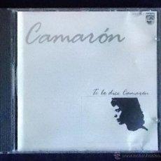 CDs de Música: CD CAMARON . TE LO DICE CAMARÓN . EDICIÓN 1986. Lote 39540015